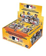 2020 Topps MLB Sticker Collection Baseball Box