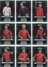 Panini Prizm World Cup 2018 Complete 12 Card Spain Team Set