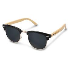 Holz Brille mit Bambus Bügeln Clubmaster Sonnenbrille UV400 Damen Herren