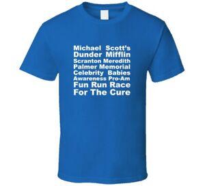 Funny Office Scott Fun Run Race For The Mifflin Funny Gift Office T Shirt