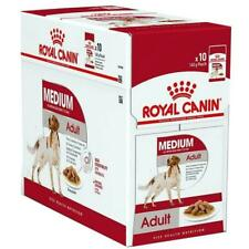 12 x Royal Canin Medium Adult Wet Dog Food in Gravy for 11-25kg Dogs, 12m 85g