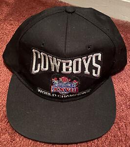 VINTAGE DALLAS COWBOYS SUPER BOWL XXVll CAP HAT NFL NWT WORLD CHAMPIONS- Unworn