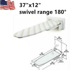 Ironing Board Wall Mount Swivel & Foldable , Space Saving , Easy installation