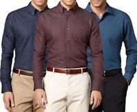 New Van Heusen Big & Tall Mens Pattern No-Iron Casual Button-Down Shirt MSRP $60