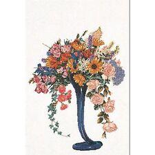 Thea Gouverneur  1086  Bouquet d'Eté  Lin  Broderie  Point de croix compté
