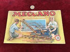 catalogue brochure de jouet N 25 meccano
