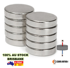 10X Strong Neodymium Magnets 12.7mm X 3.175mm N50 Rare Earth