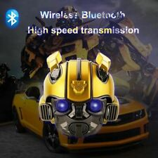 Transformers Bumblebee Helmet Wireless Bluetooth 5.0 Speaker With Fm Radio Suppo