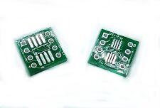 Adaptador SOP8 SO8 SOIC8 MSOP8 TSSOP8 a DIP8 Adapter adaptateur adattatore PCB