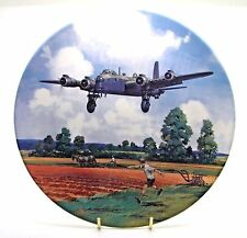 ~ Stirling Home Run ~ Heroes of the Sky ~ Fine Bone China Plate