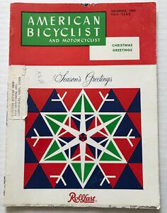 1969 American Bicyclist Bicycle Magazine Schwinn Stingray Apple Crate Photo & !!