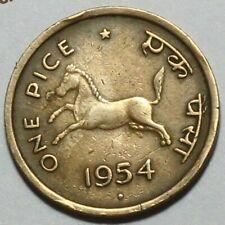 ANCIENT - INDIA 1 PICE  HORSE  COIN  COMMEMORATIVE VERY RARE COPPER  COIN