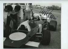 Clay Regazzoni Ferrari 312 B2 Modena pruebas Fotografía Firmada de septiembre de 1971