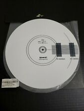 Hudson Hi-Fi Acrylic Turntable Mat White and Black Lp Slipmat New Opened Box