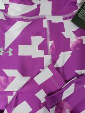 Girls Kids Youth Under Armour Pants NEW Purple Size 6
