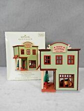 Hallmark Keepsake Ornament, Nostalgic House & Shops, 25th Anniv., Don's Nursery