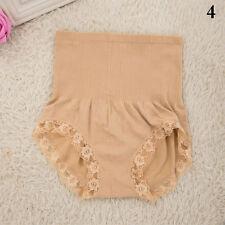 Women's High Waist Body Shaper Brief Underwear Tummy Control Panties Shapewear Brown