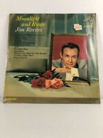 JIM REEVES MOONLIGHT AND ROSES vinyl LP shrink RCA LSP-2854