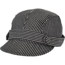 WIGENS - Blue & White Pinstripe Flat Cap rrp £50