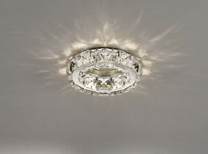 Inspired IL30836CH Galaxy Single Recessed Downlight Polished Chrome Finish