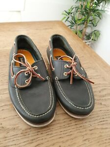 Timberland Mens Deck/boat Shoes Size 9 Genuine Leather