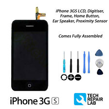 NEW Complete LCD & Digitiser Touch Screen Assembly + FREE Tools FOR iPhone 3GS