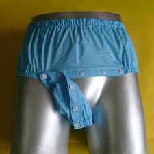 1PCS Open Front Waterproof Pants Adult Non-disposable Diaper Incontinence PVC