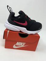 BABY GIRLS: Nike Presto Fly, Black & Pink - Size 7C AA2228-001