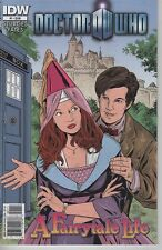 Doctor Who A Fairytale Life #1 The 11th Doctor comic book TV show series
