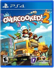 PLAYSTATION 4 PS4 VIDEO GAME OVERCOOKED! 2 BRAND NEW AND SEALED