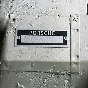 Porsche Custom Data plate Vehicle ID Tag Serial 992 luftgekuhlt 911 werk 912 356