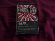 Loudness Thunder in the East cassette (1985)