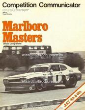 1975 ALLAN MOFFAT FORD CAPRI RS3100 A3 SANDOWN POSTER AD SALES BROCHURE ADVERT
