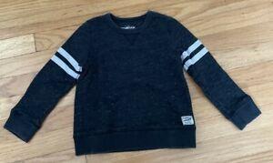 Toddler Boys Gray OSHKOSH BGOSH Long Sleeve Sweatshirt - 4T