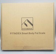 FITINDEX Bluetooth Body Fat Scale Smart Wireless Digital Bathroom Weight Scale