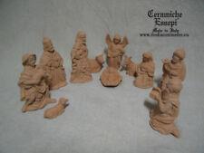 PRESEPE TERRACOTTA 11 soggetti Cristmas Crib nativity - creche de noel - krippe