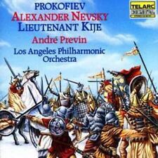 Sergei Prokofiev : Alexander Nevsky, Lieutenant Kije (Previn, Lapo) CD (2004)