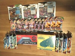 POKEMON SEALED BOX LOT (10) ELITE TRAINER + TRAINERS TOOLKIT + 20 BOOSTER PACK $