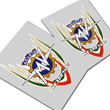 MV Agusta corse F3 F4 Motorcycle decals graphics badge style design x 2 pieces