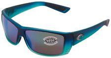 Costa Del Mar Cat Cay Sunglasses AT-73-OGMGLP Fade / 580G Green Mirror Polarized