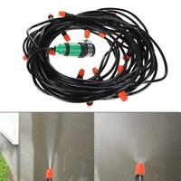 Automatic Watering Garden Hose Micro Drip Irrigation System Kit with Nozzle
