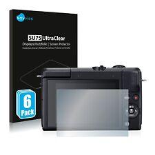 6x Displayschutzfolie für Canon EOS M200 Klar Schutzfolie Displayfolie