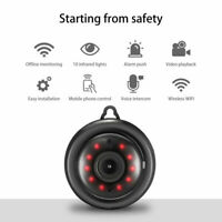 HD 1080P Wifi IP Security Spy Wireless Camera DVR+Nanny Spycam IR Night Vision