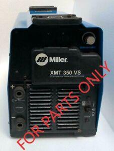 MILLER XMT 350 VS DC INVERTER ARC WELDER WITH AUTO-LINE 208-575V (FOR PARTS) 2