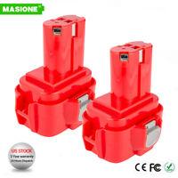 2x 2.0AH 9.6V Pod Style BATTERY FOR MAKITA 9100 9101 9102 9120 9122 9.6 VOLT