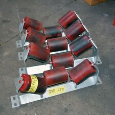 Buck 3 Rubber roller conveyor assembly 115mm diameter x 160mm long