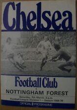 Chelsea Home Teams C-E Written - on Football Programmes