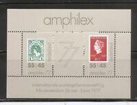 Netherland SC # B538a Amphilex '77. Souvenir Sheet . MNH