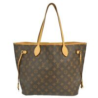 Louis Vuitton Neverfull MM M40156 Monogram Canvas Shoulder Tote Hand Bag France