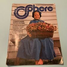 SPHERE MAGAZINE Betty Crocker PENNA DUTCH RECIPES AND CRAFTS 1974